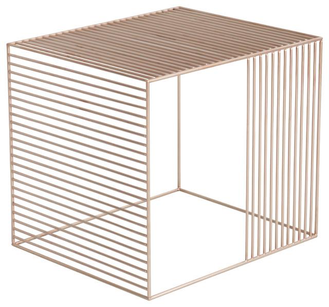 Wire Table, Copper contemporary-coffee-tables