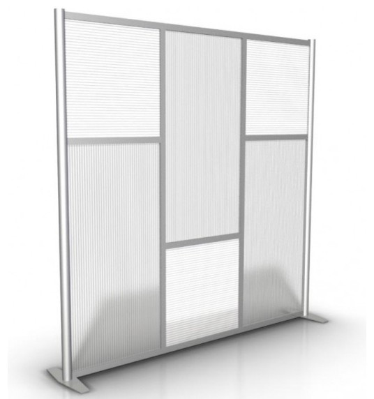 "75"" Modern Room Divider - Contemporary - Screens And Room Dividers - philadelphia - by ArtsyHome.com"