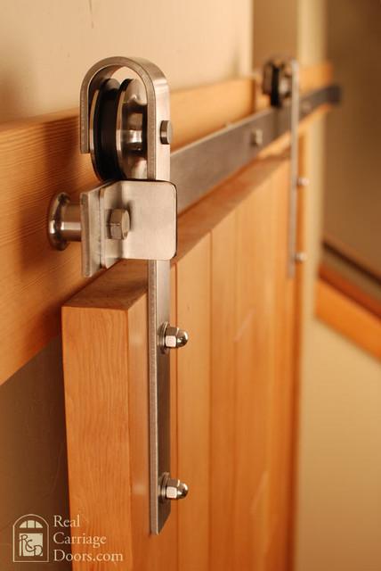 Stainless Steel Barn Door Hardware - Rustic - Barn Door ...