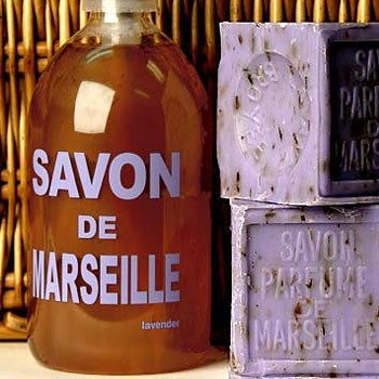 Savon de Marseille traditional bath and spa accessories