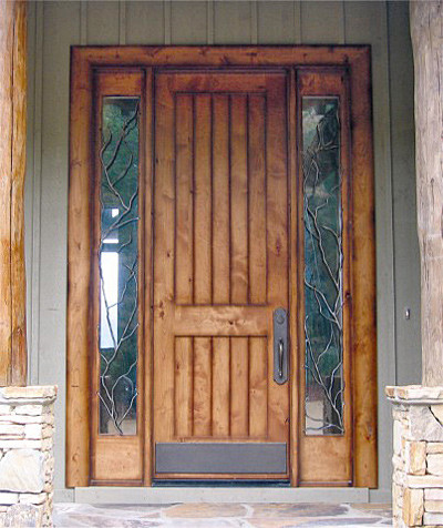 Old World Collection - DbyD3009 eclectic front doors