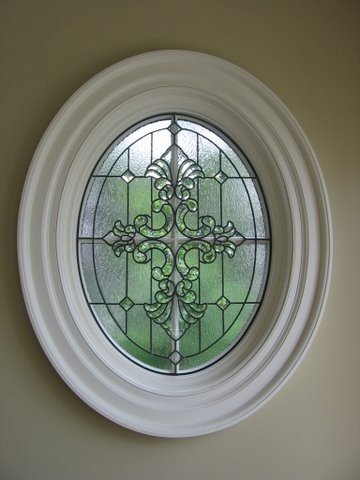 Oval Leaded Windows traditional