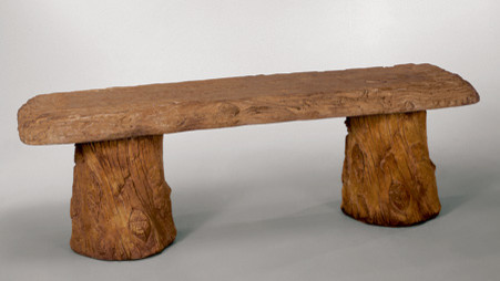 Woodland Bench traditional-upholstered-benches