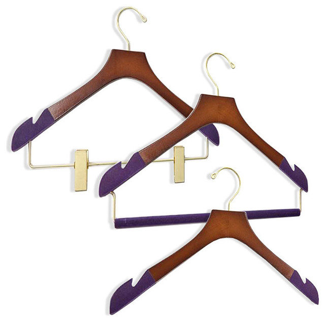 Women's 38-pc. Executive Hanger Collection traditional-wall-hooks