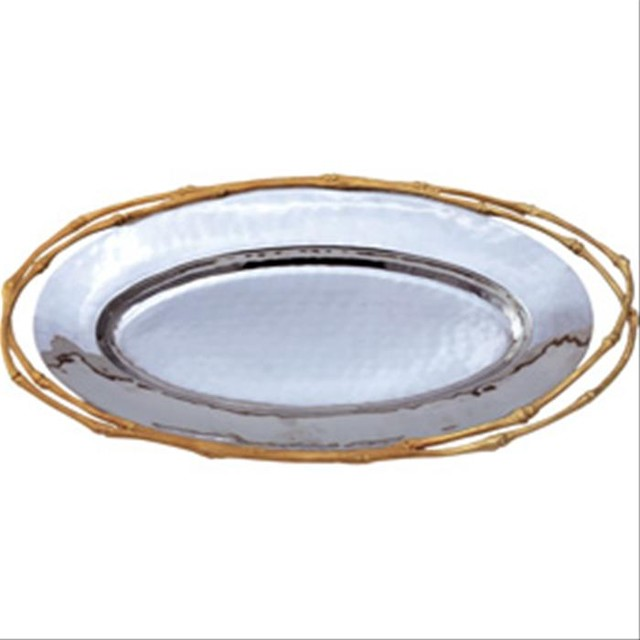 Bamboo Trim Tray contemporary-serving-dishes-and-platters