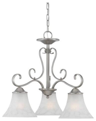 Quoizel Duchess 3-Light Chandelier - 23W in. traditional-chandeliers