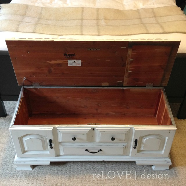 Huppé Cedar Chest / Bench - Rustic - Accent Chests And Cabinets - other metro - by reLOVE design