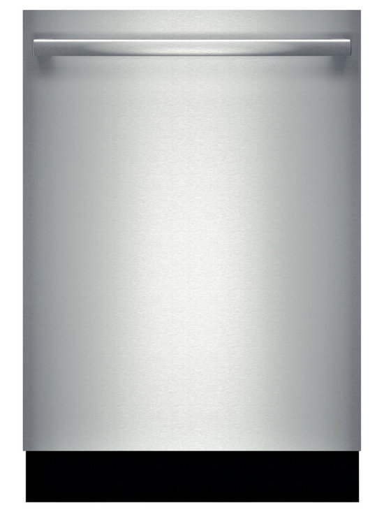 """Bosch 24"""" Bar Handle 300 Series Dishwasher, Stainless Steel 