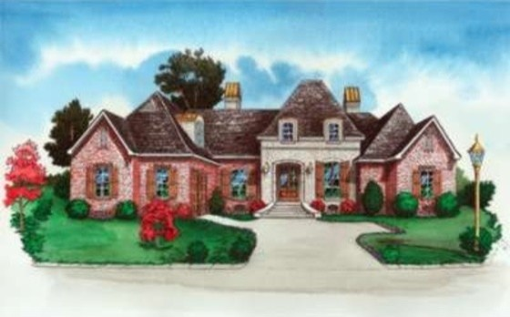 House Plan 16-301 traditional-exterior-elevation