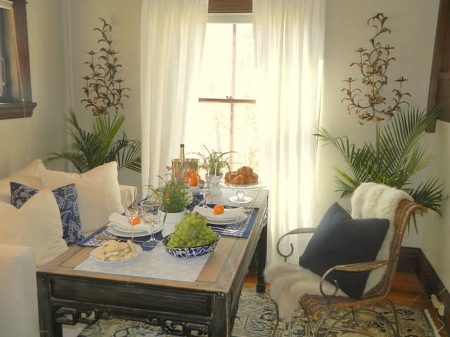 Breakfast Nook eclectic-dining-room