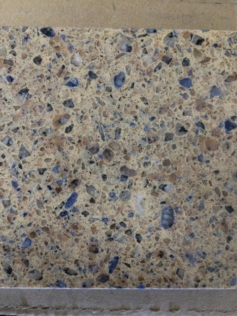 Hanstone Caribbean Blue Quartz Kitchen Countertops New