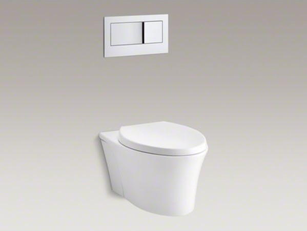 ... dual-flush wall-hung toilet - Contemporary - Toilets - by Kohler