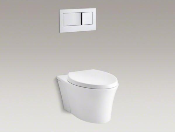 Kohler Toilets Reviews : ... dual-flush wall-hung toilet - Contemporary - Toilets - by Kohler