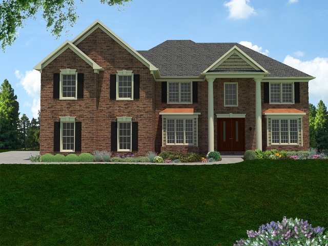 Home Exteriors - Traditional - Rendering - cincinnati - by J.K. Renders
