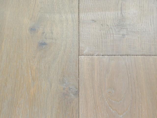 Del Mar - Hallmark - grey and white wash traditional-hardwood-flooring