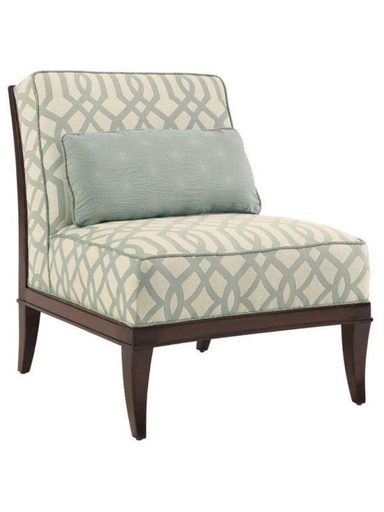 Lexington Living Room Montaigne Armless Chair -