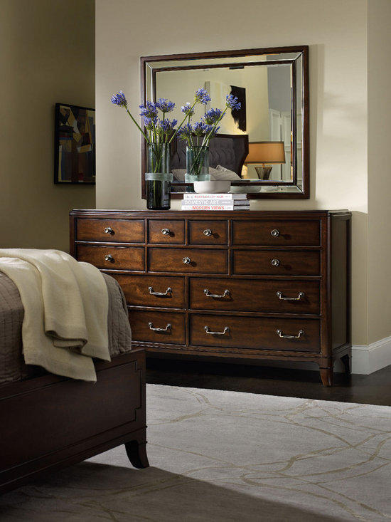 Hooker Furniture Bedroom Palisade Dresser - Hooker Furniture Bedroom Palisade Dresser, where modern and traditional combine.