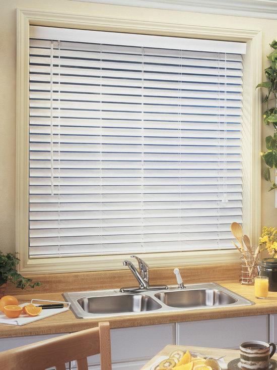 Faux Wood Blinds - BlindsChalet.com