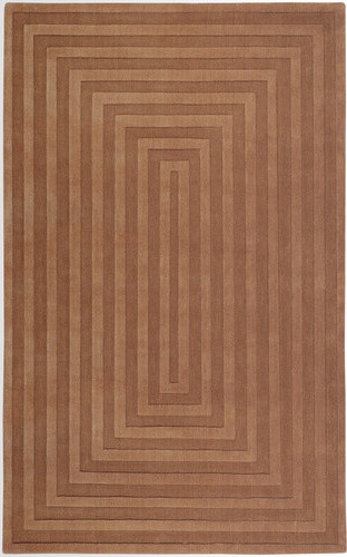 Mystique Light Brown Multi Rug modern-rugs