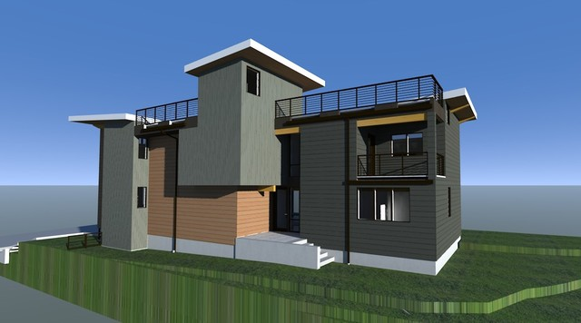 Queen Anne Residence contemporary-rendering