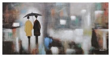 Ren-Wil OL870 Rainy Day Horizontal Canvas Wall Art by Olivia Salazar traditional-artwork
