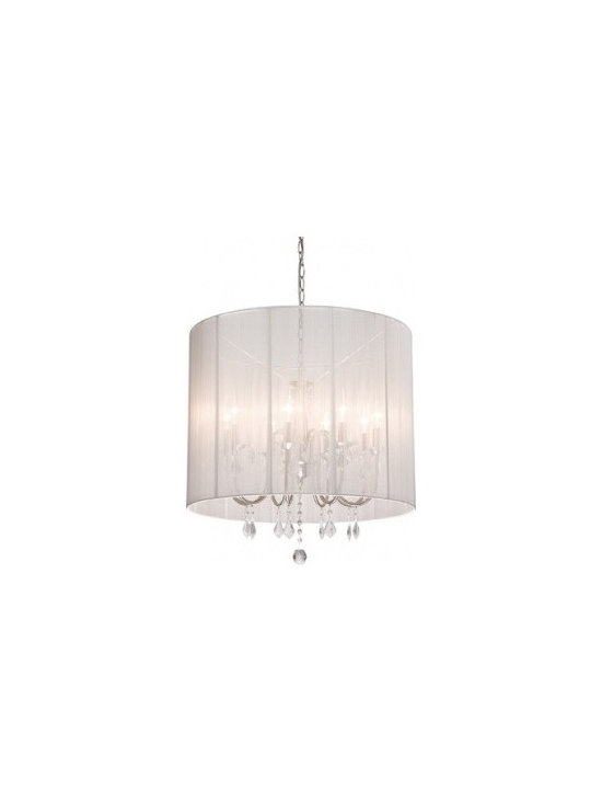 Shaded Chandelier - EL3CA82WH