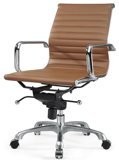 m344 eames style office chair brown modern office chairs by