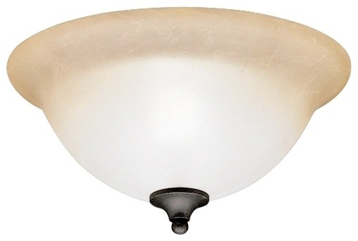 "Country - Cottage Pomeroy Collection 13"" Wide Ceiling Light Fixture traditional-ceiling-lighting"