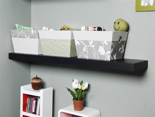 Floating Display Shelf - Modern - Display And Wall Shelves - los angeles - by Justin Hou