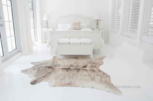Light Brindle Cowhide Rug traditional-rugs
