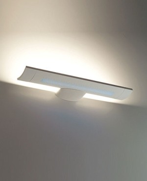 Mini surf fluorescent wall sconce modern-wall-sconces