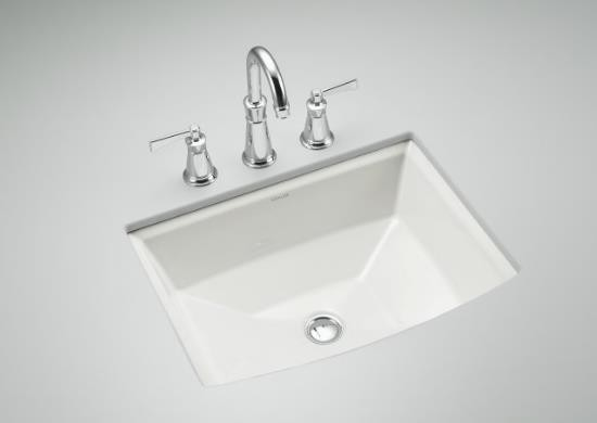 Kohler Archer Under Mount Bathroom Sink traditional-bathroom-sinks
