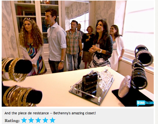 Bethenny's Closet/Dressing Room traditional