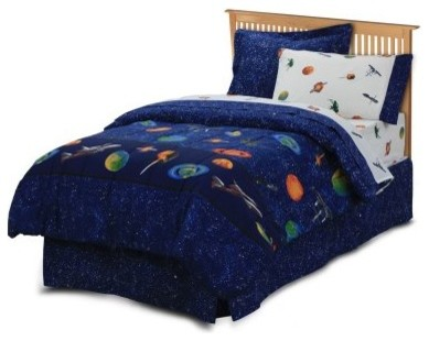 CHF Outer Space Mini Bed in a Bag modern-bed-pillows