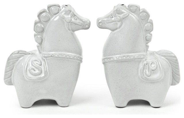 Jonathan adler horse salt pepper shakers eclectic salt and pepper shakers and mills by - Jonathan adler salt and pepper ...