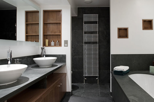 Black Slate Tile Products on Houzz