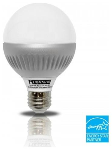 Vanity Bathroom Light Bulbs : Lightkiwi K4824 G25 Warm White Dimmable LED Globe Light Bulb, 60-watt Equivalent - Traditional ...