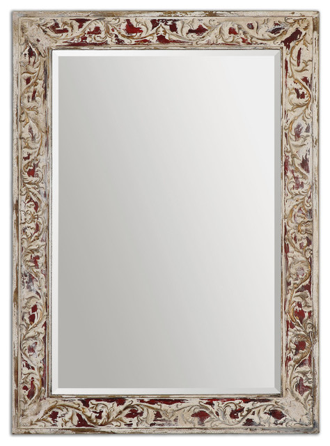 Barcelos Antique Mirror rustic-mirrors