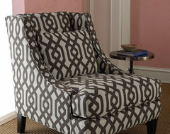 Massoud - Gray Graphic Chair modern chairs
