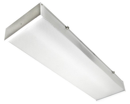 """MaxLite - MaxLite LSU2406SU30DV50 2 Foot LED Utility Wrap Fixture, 5000K - The MaxLite LED Utility Wrap Fixture is a cost-effective replacement for fluorescent or incandescent fixtures. It features a full length U Wrap Acrylic lens and a one-piece 20 gauge steel body. Designed to meet or exceed 7-10 footcandles at 8� installed heights for parking drive lane compliance, the fixtures are ideal for utility lighting in parking garages and stairwells, meeting applicable building and safety codes. To add an occupancy sensor to your product, order the """"MS"""" companion part. It will be installed onto the luminaire at the factory, and the combined part number will have """"MS"""" appended to the end."""