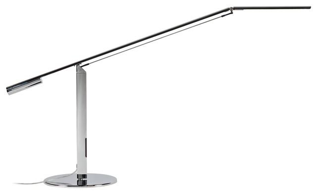 Koncept Gen 3 Equo Warm Light Led Desk Lamp In Chrome