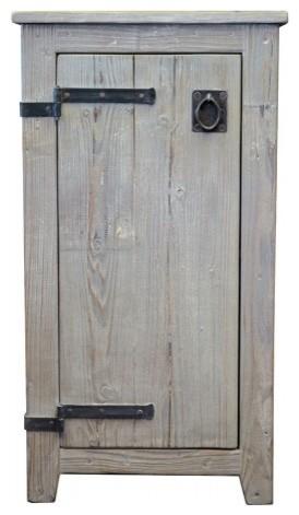 Americana Cabinet in Driftwood bathroom-vanities-and-sink-consoles