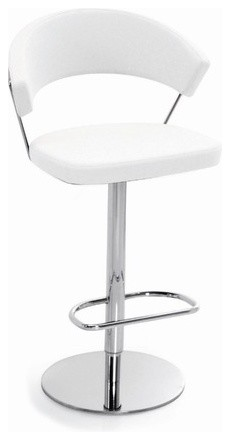 New York Leather Stool contemporary-bar-stools-and-counter-stools