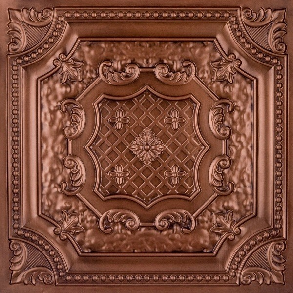 Dct 04 Faux Tin Ceiling Tile Drop In 24x24 Ceiling Tile