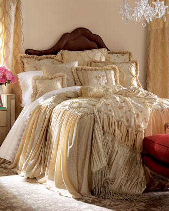Dian Austin Couture Home Grandeur Bed Linens GRANDEUR KING BEDSKIRT traditional-bedskirts