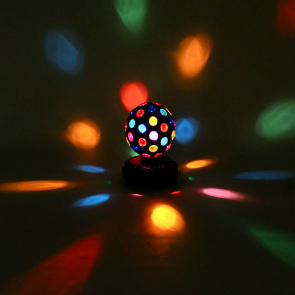 "Rotating Disco Ball Light - 4"" - Eclectic - Novelty Lighting - los angeles - by 2Shopper"