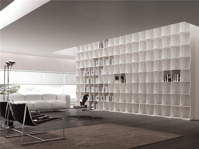 Wavy Bookshelf bookcases