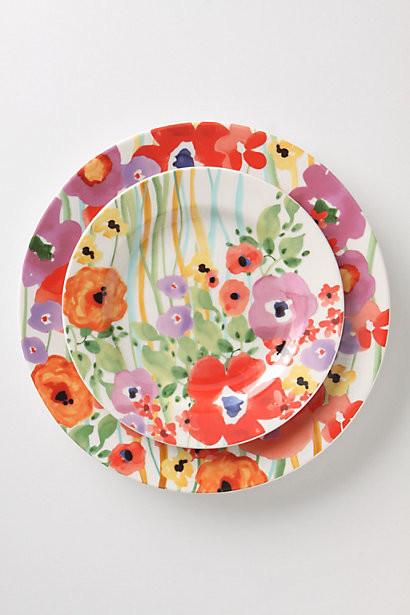 Verdant Acres Dinner Plate contemporary-plates