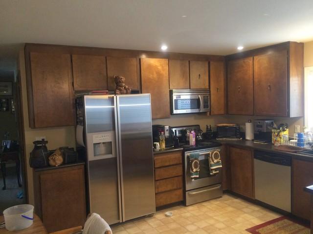 Rustoleum Kitchen Cabinet Transformation traditional-kitchen-cabinetry