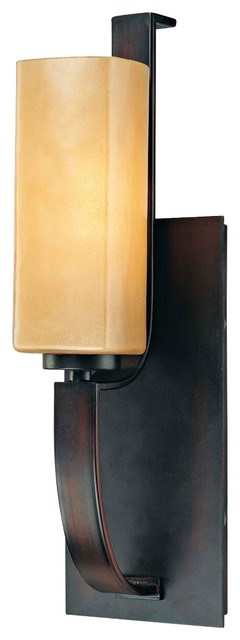 "Contemporary Minka Kinston Collection 15 3/4"" High Wall Sconce modern-wall-sconces"